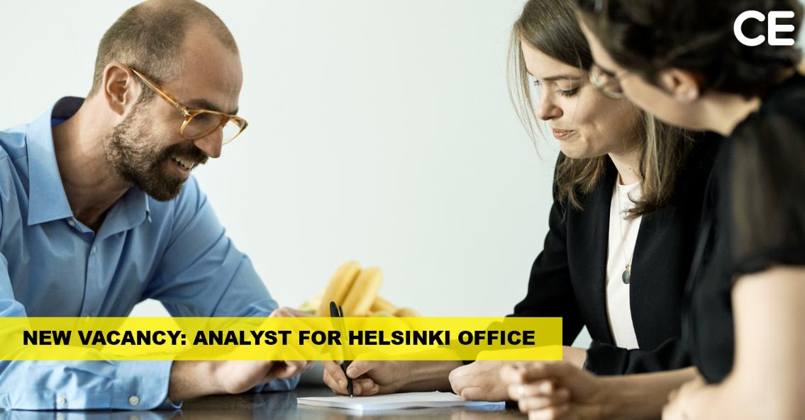 Analyst in Helsinki – Copenhagen Economics